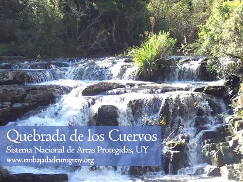 Quebrada de los Cuervos - Reserva Natural en Uruguay