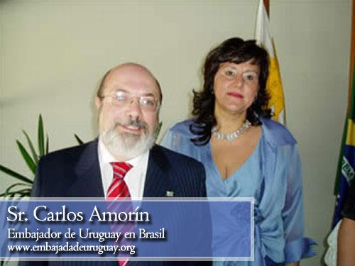 Carlos Amorín, embajador de Uruguay en Brasil