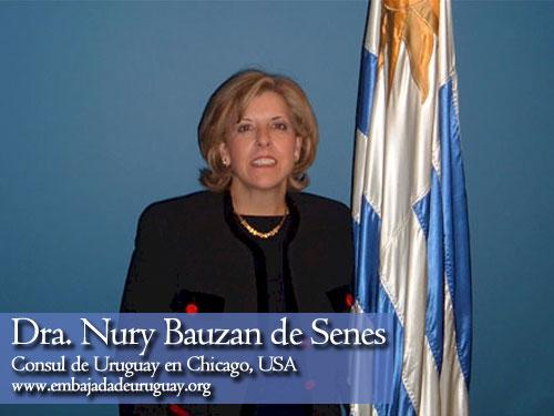 Consul de Uruguay en Chicago, Estados Unidos