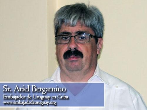 Ariel Bergamino, embajador de Uruguay en Cuba