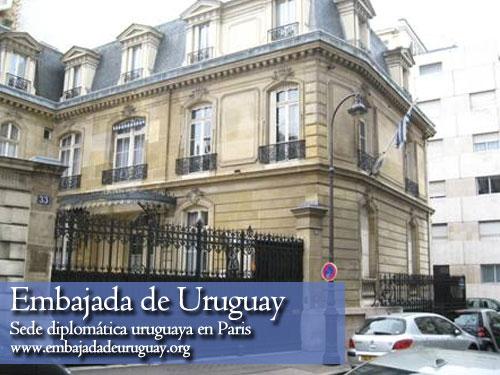 Embajada de Uruguay en Paris, Francia