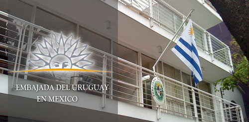 Embajada y Consulado del Uruguay en Mexico DF