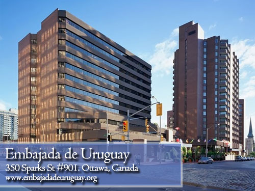 Embajada de Uruguay en Ottawa, Canada