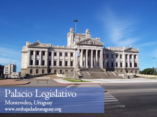 Palacio Legislativo - Montevideo, Uruguay
