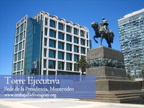 Torre Ejecutiva - Sede de la Presidencia en Montevideo, Uruguay